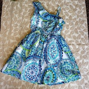 Adorable girls dress, great condition! Sz 5/6 $10